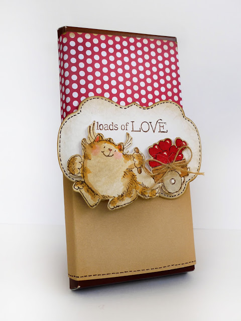 Penny Black Chocolate Wrap Kitty Valentine