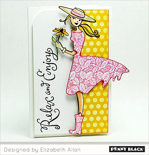 Designer Inspiration Elizabeth The Penny Black Blog