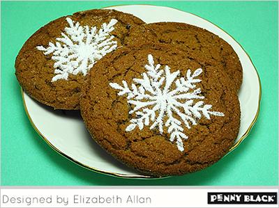 Stenciled-Cookies