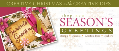 creative xmas with creative dies banner
