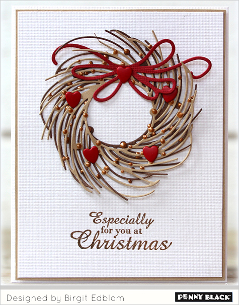 Penny Black 51-151 Whirl Wreath Creative Die